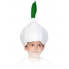 Карнавальная маска-шапка Чеснок
