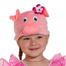 Карнавальная маска-шапка Поросюшка