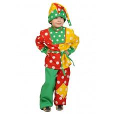 Карнавальный костюм Карнавалофф - Петрушка, размер 92-110см