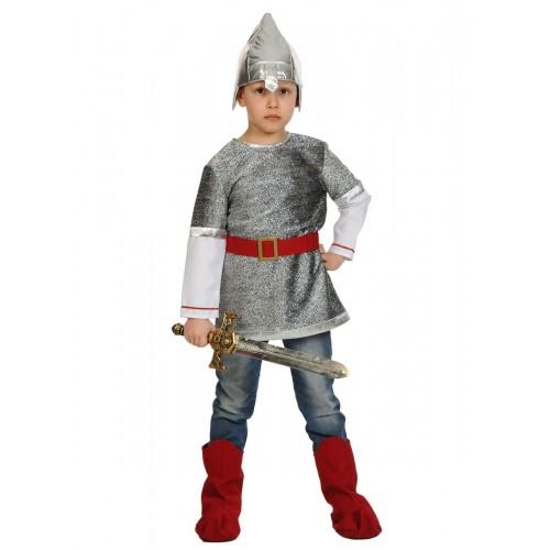 Карнавальный костюм Карнавалофф - Сказки. Богатырь Алеша, размер 116-122см