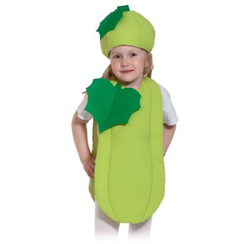 Карнавальный костюм - Во саду ли, в огороде - Кабачок, размер 98-128