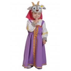 Карнавальный костюм Карнавалофф - Сказочный теремок, Коза-Дереза, размер 98-128см