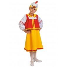 Карнавальный костюм Карнавалофф - Сказочный теремок, Курочка Ряба, размер 98-128см