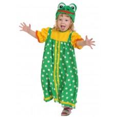 Карнавальный костюм Карнавалофф - Сказочный теремок, Лягушка-Квакушка, размер 98-128см