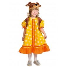 Карнавальный костюм Карнавалофф - Собачка Жучка, размер 98-128 см