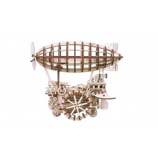 3D деревянный пазл Robotime Механизмы работающие Дирижабль
