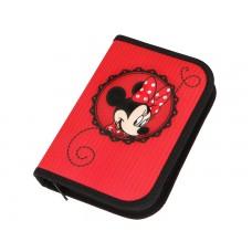 Пенал Scooli Minnie Mouse с наполнением, 30 предметов