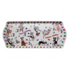 Поднос сервировочный GiftLand - Кошки-Мышки