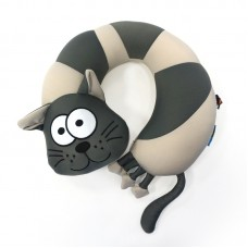 Подушка-подголовник Кот, 32 см