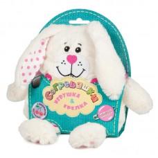 Грелка-Игрушка Maxitoys - Зайчонок, 19 см