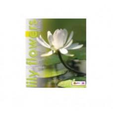 Тетрадь MagTaller А5 48 листов клетка, Lily flowers