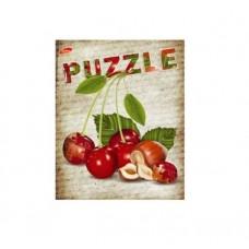 Тетрадь MagTaller А5 48 листов клетка, Puzzle - Вишня