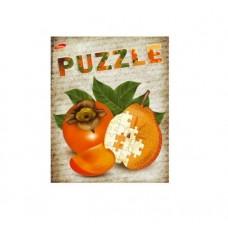 Тетрадь MagTaller А5 48 листов клетка, Puzzle - Хурма
