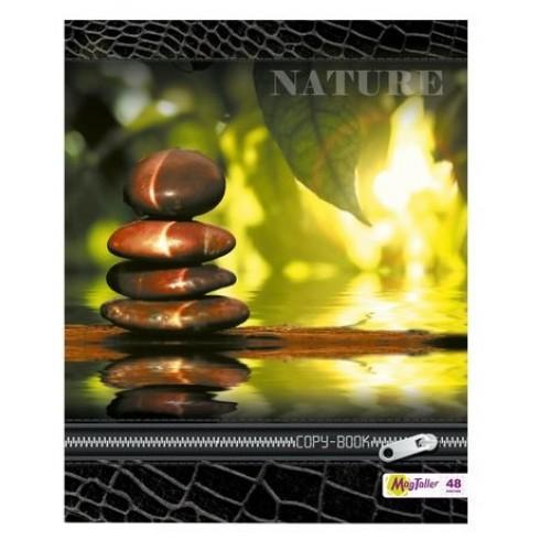 Тетрадь MagTaller А5 48 листов клетка, Nature-2
