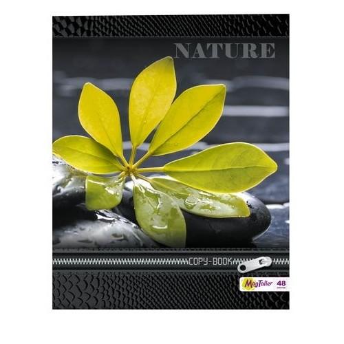Тетрадь MagTaller А5 48 листов клетка, Nature-3