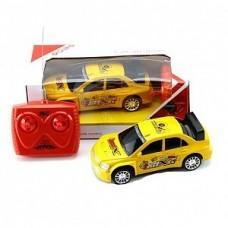 Машина радиоуправляемая, ярко-желтая