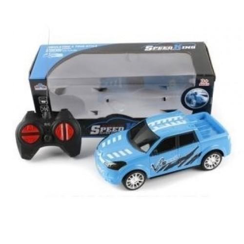 Машина радиоуправляемая, голубая