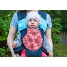 Накладки Чудо-Чадо к слинг-рюкзакам махровые голубые