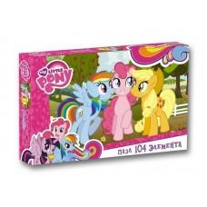 Пазл Оригами - My little pony, 104 детали