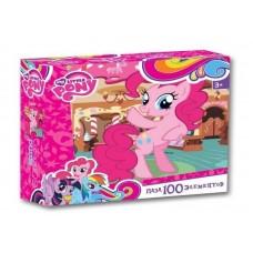 Пазл Оригами - My little pony, розовая лошадка, 100 деталей