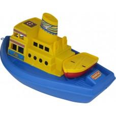 Корабль Чайка, желтый