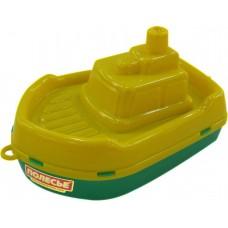 """Кораблик """"Буксир"""", желто-зеленый"""