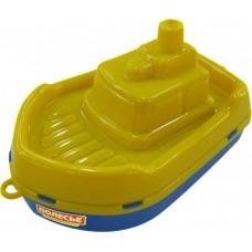 "Кораблик ""Буксир"", желто-синий"
