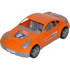 """Автомобиль """"Юпитер-спорт"""" гоночный, оранжевый"""
