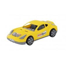 """Автомобиль """"Торнадо"""" гоночный, желтый"""