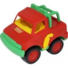 """Автомобиль """"Джип"""", красно-зеленый"""