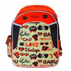 Рюкзак Action - Pucca, оранжево-коричневый