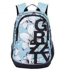 Рюкзак Grizzly голубой