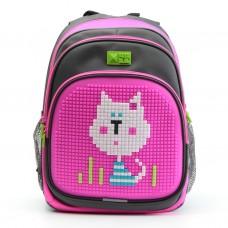 Рюкзак 4All Kids серо-розовый-2