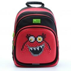 Рюкзак 4All Kids черно-красный