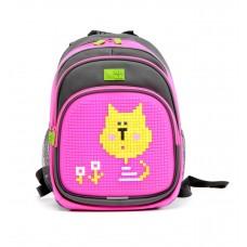 Рюкзак 4All Kids серо-розовый