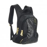 Рюкзак Grizzly черный - желтый