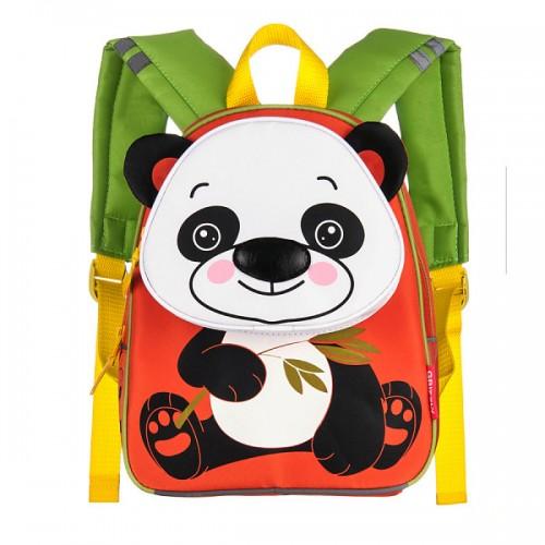 Рюкзак школьный Grizzly панда