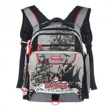 Рюкзак Grizzly черно-красный