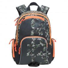 Рюкзак Grizzly зелено - оранжевый