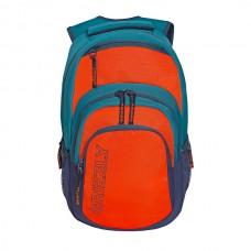 Рюкзак Grizzly бирюзовый-оранжевый