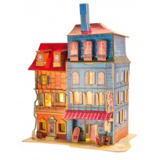 3D деревянный пазл Robotime Серия Дома - Затерянный Кольмар