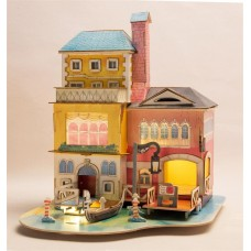 3D деревянный пазл Robotime Серия Дома - Лето в Венеции