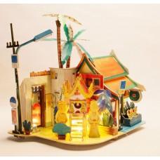 3D деревянный пазл Robotime Серия Дома - Солнечный Чиангмэй