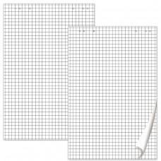 Блокнот для флипчарта Brauberg, комплект 5 штук, 20 листов, клетка, 67,5х98 см, 80 г/м2