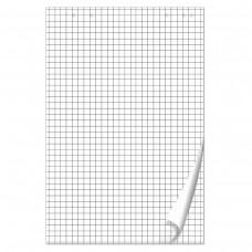 Блокнот для флипчарта Brauberg, 50 листов, клетка, 67,5*98 см, 80 г/м2