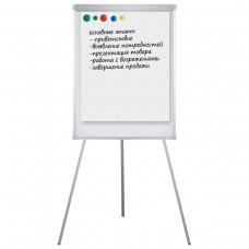 Доска-флипчарт Brauberg, магнитно-маркерная, стандарт, с держателями для бумаги, 70*100 см