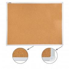 Доска пробковая Brauberg для объявлений, алюминевая рамка, 90*120 см
