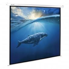 Экран проекционный Brauberg Moto, настенный, электропривод, 180*180 см