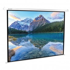 Экран проекционный Brauberg Moto, настенный, электропривод, 180*240 см