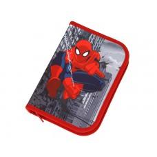 Пенал Scooli Spider-Man с наполнением, 30 предметов